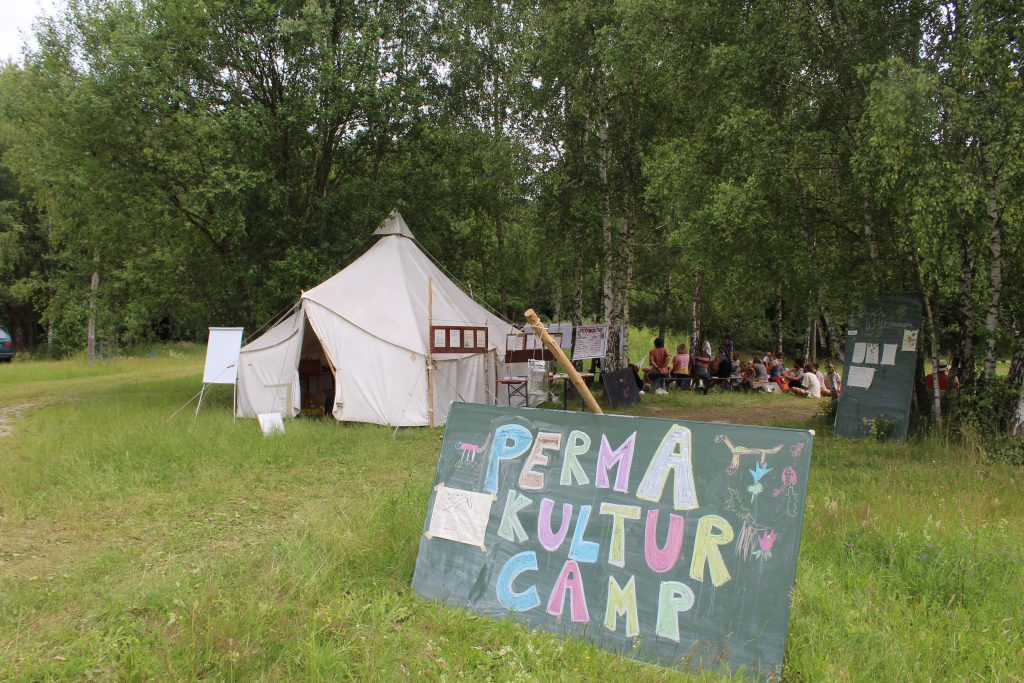 permakultur camp auf dem move utopia